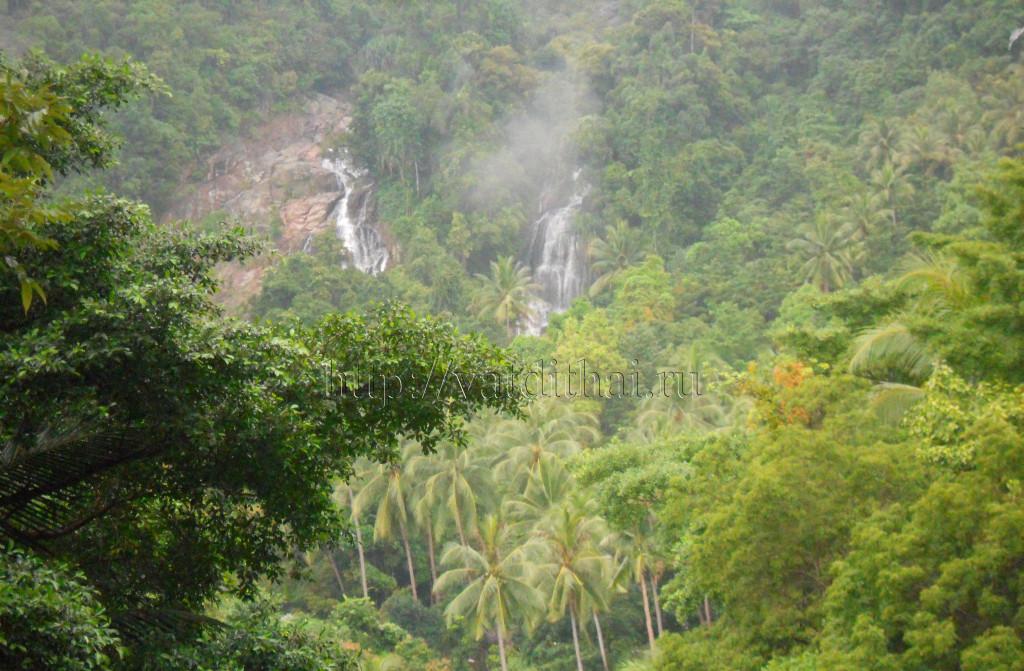 водопады самуи таиланд остров посмотреть