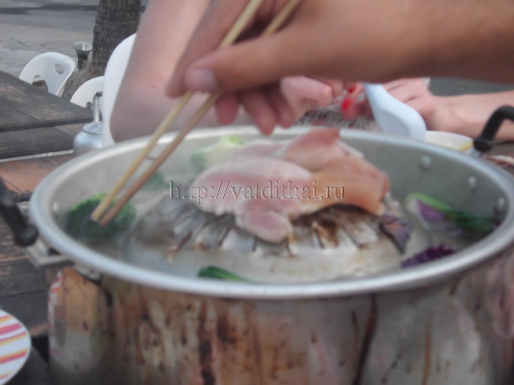 Сколько стоит питание в Тайланде 2015