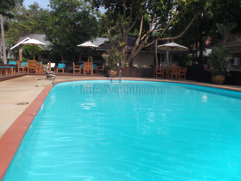 Бассейн отель Malibu Garden Resort 3* остров Самет