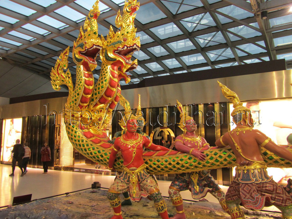 аэропорт Тайланда Бангкок
