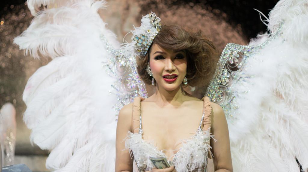 Шоу трансвестит в Тайланде