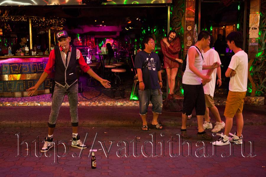 Уличные шоу в Тайланде