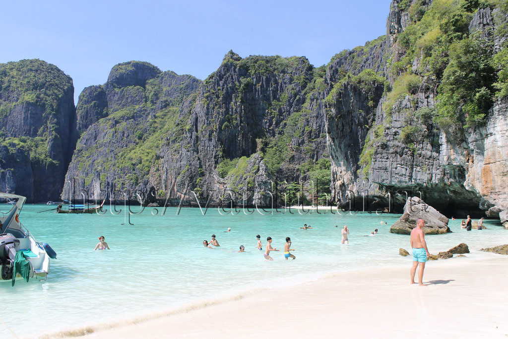 остров Пхи Пхи пляжи