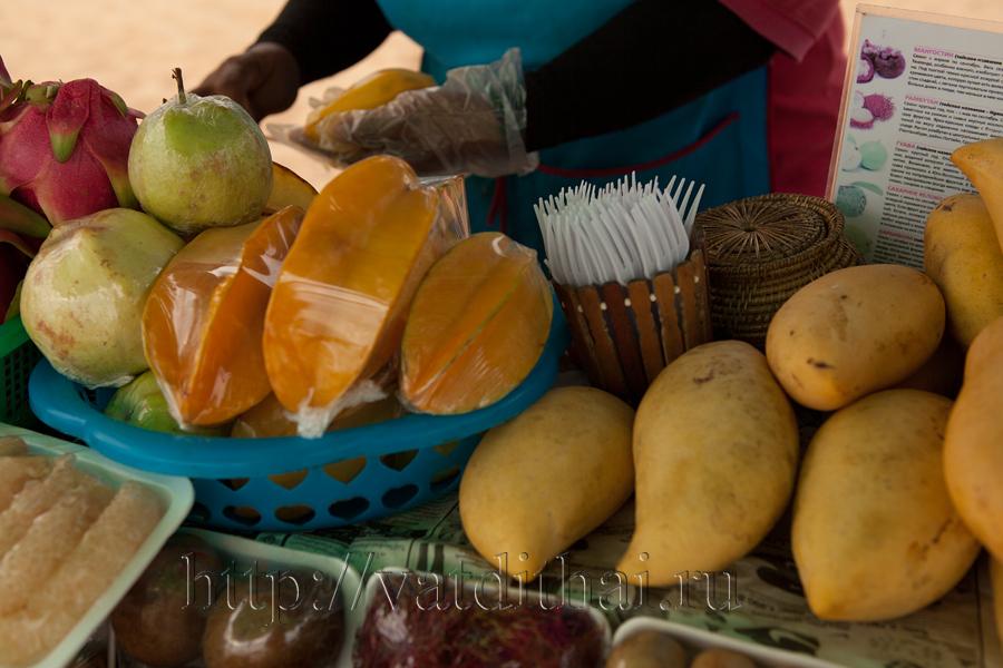 фруктовый сезон в Тайланде