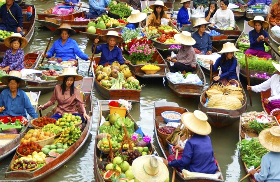 Город Хуахин в Тайланде