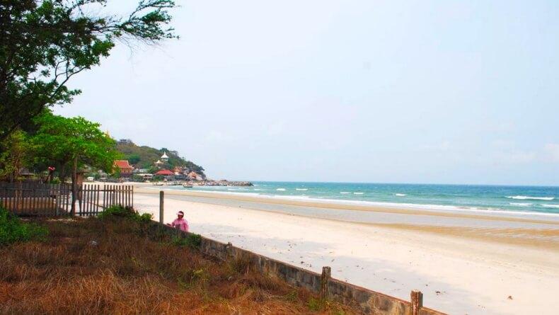лучшие пляжи Хуахина