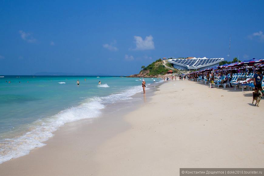 остров Ко Лан в Таиланде