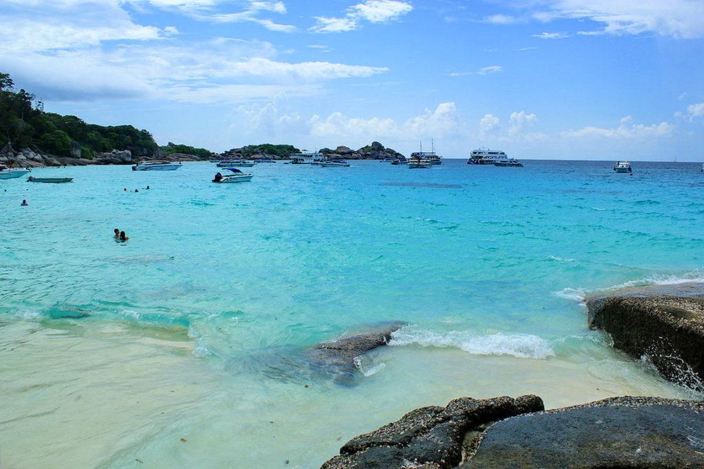 пляжи Симиланских островов