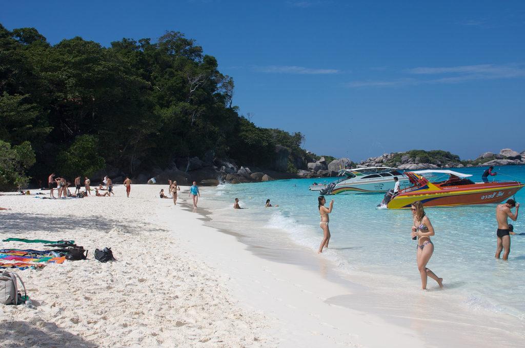 симиланские острова Таиланд