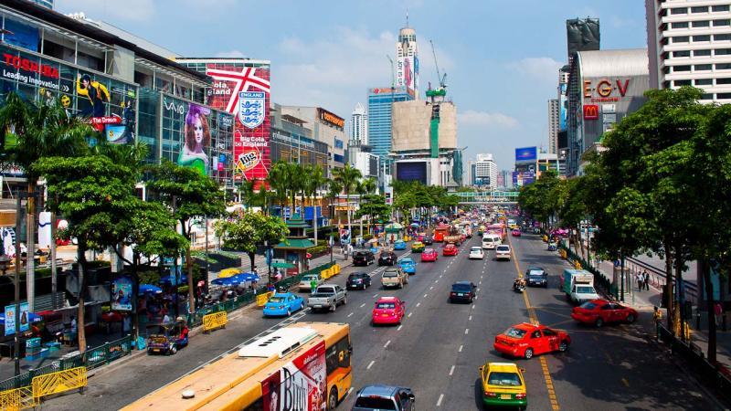 Бангкок это