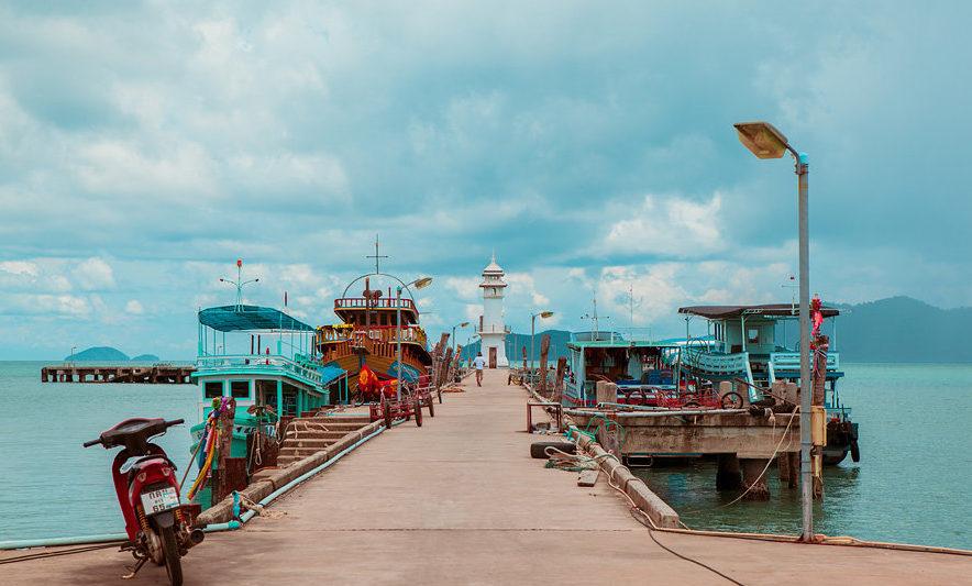 Как добраться до Ко Вай Таиланд