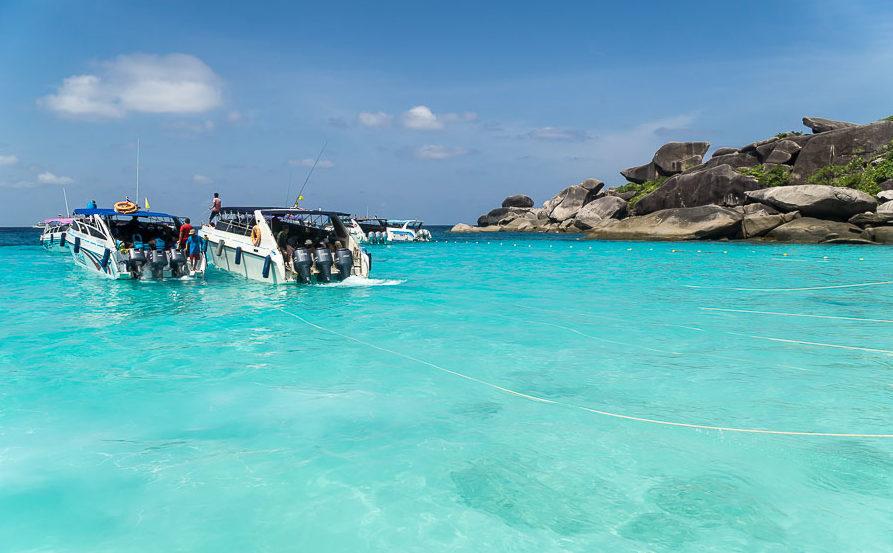 как добраться симиланские острова Таиланд