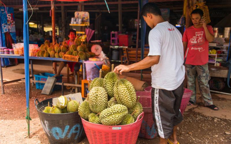 король фруктов Дуриан Таиланд