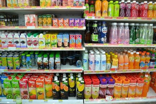 Цены на продукты в магазинах Таиланда
