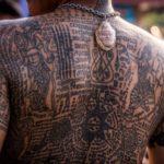 Сак Янт. Ритуальная татуировка в Таиланде